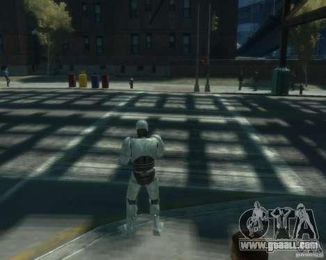 Skin Robokopa for GTA 4 third screenshot