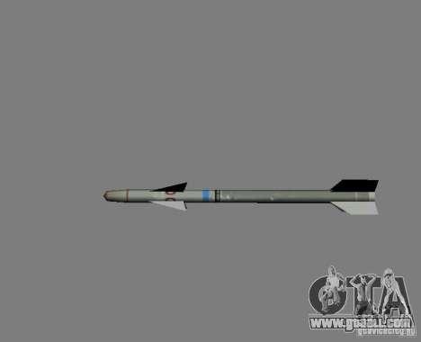 Rocket for GTA San Andreas
