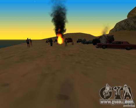 Beach večirinka for GTA San Andreas second screenshot