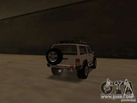 Jeep Cherokee Sport for GTA San Andreas back left view