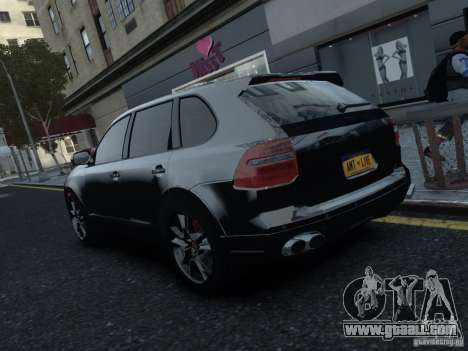 Porsche Cayenne Turbo S 2009 for GTA 4 right view