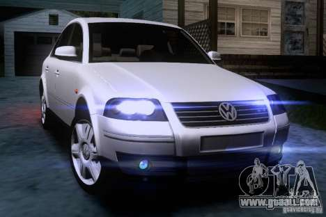 Volkswagen Passat B5+ for GTA San Andreas side view