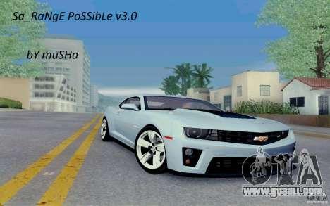 Sa_RaNgE PoSSibLe v3.0 for GTA San Andreas