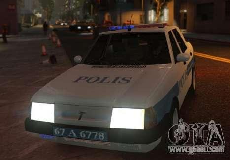 Tofas Sahin Turkish Police ELS for GTA 4