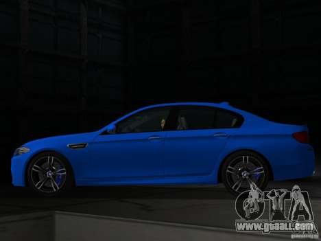 BMW M5 F10 2012 for GTA Vice City left view