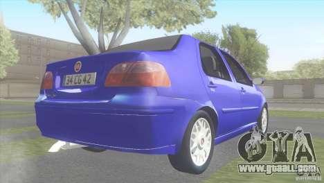 Fiat Albea Sole for GTA San Andreas left view