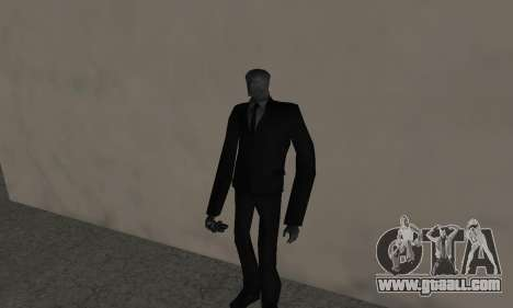 Slender Man for GTA San Andreas second screenshot
