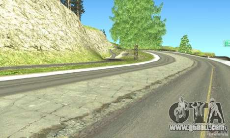 Real HQ Roads for GTA San Andreas sixth screenshot