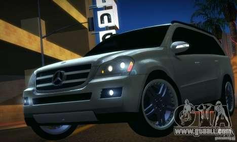 Mercedes-Benz GL500 V.2 for GTA San Andreas back left view