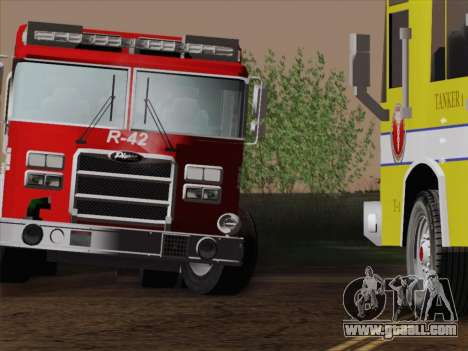 Pierce Contender LAFD Rescue 42 for GTA San Andreas bottom view