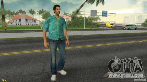 Tommy HQ Model for GTA Vice City fifth screenshot