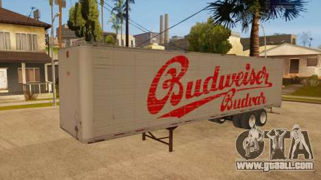 All-metal trailer for GTA San Andreas upper view