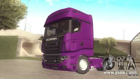 Scania Euro 5 R700 V8 for GTA San Andreas