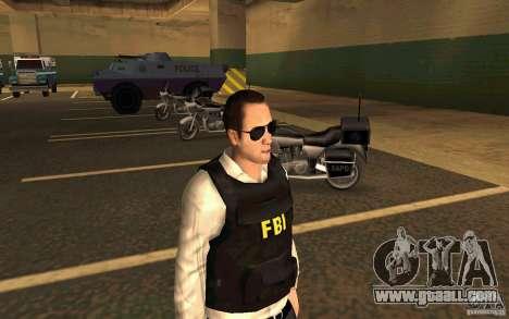 FBI HD for GTA San Andreas second screenshot