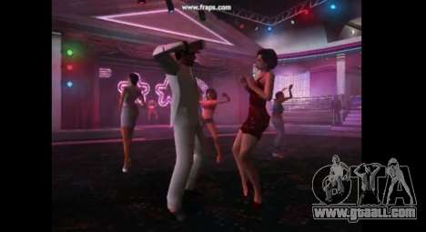 Dance mod for gta vice city for GTA Vice City second screenshot