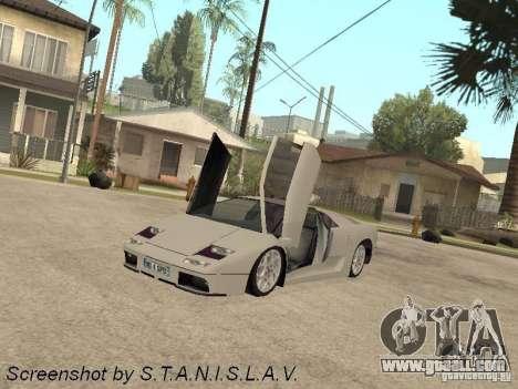 Lamborghini Diablo for GTA San Andreas