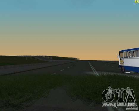 Finished building the road to Criminal Russia for GTA San Andreas second screenshot