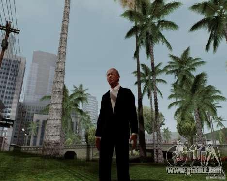 Morgan Freeman for GTA San Andreas