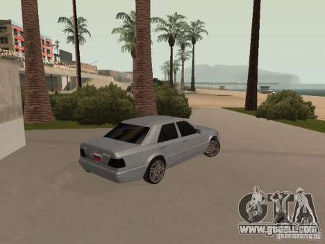 Mercedes-Benz E420 AMG for GTA San Andreas inner view