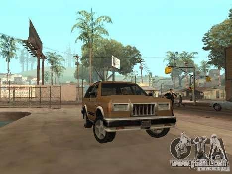 New Landstalker for GTA San Andreas side view