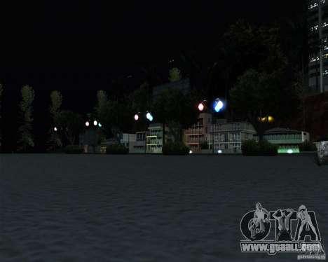 Modern beach in Los-Santos for GTA San Andreas forth screenshot