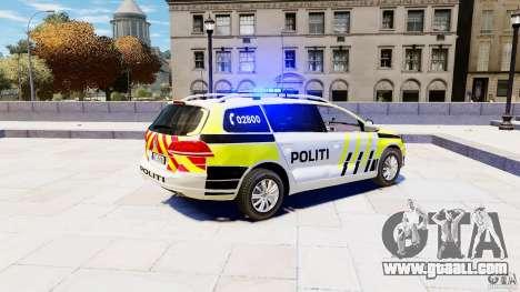 Volkswagen Passat B7 Variant 2012 for GTA 4 left view
