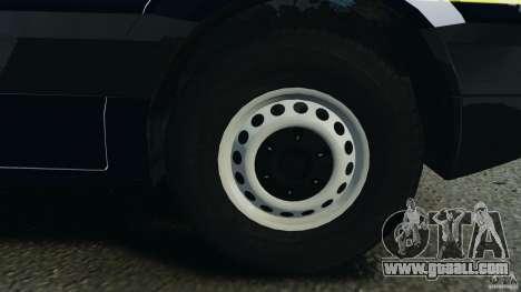 Mercedes-Benz Sprinter Police [ELS] for GTA 4 upper view