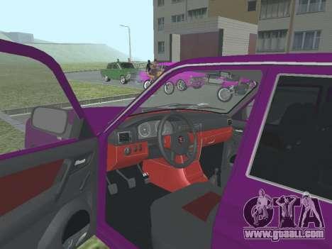 GAZ 3110 Volga for GTA San Andreas back view