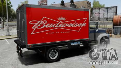 The new advertisement for truck Yankee for GTA 4 right view