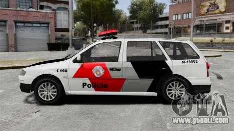 Volkswagen Parati G4 PMESP ELS for GTA 4 left view