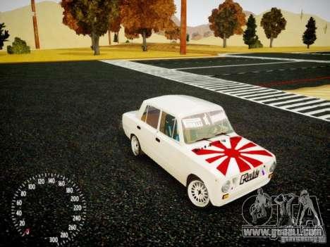 Vaz-2101 Drift Edition for GTA 4 side view
