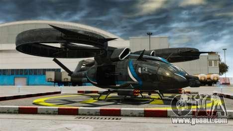 Transport helicopter SA-2 Samson for GTA 4