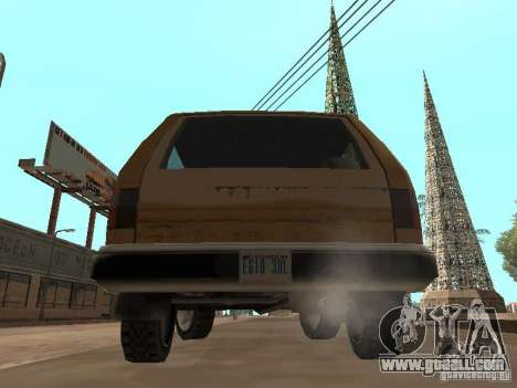 New Landstalker for GTA San Andreas right view