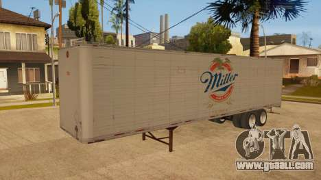 All-metal trailer for GTA San Andreas bottom view