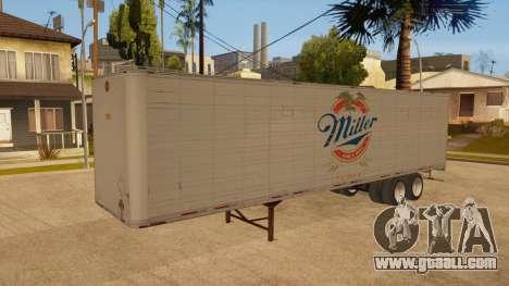 All-metal trailer for GTA San Andreas