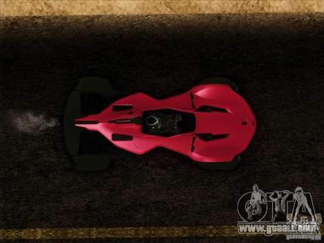 BAC MONO for GTA San Andreas right view
