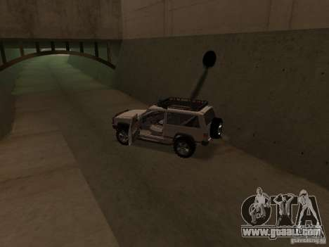 Jeep Cherokee Sport for GTA San Andreas inner view