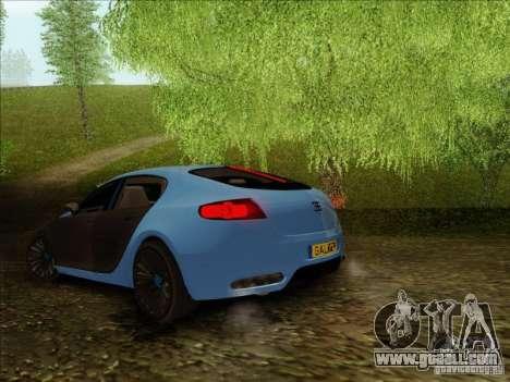 Bugatti Galibier 16c for GTA San Andreas right view