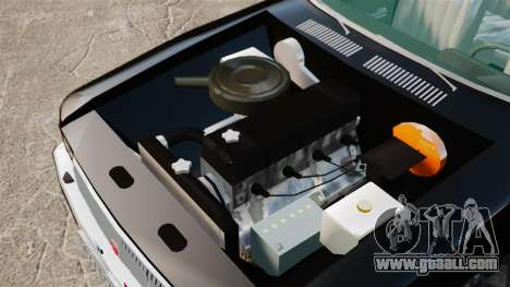 Gaz-3102 FBI for GTA 4 back view