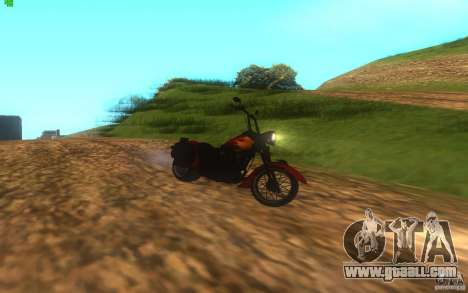 Motorcycle from Mercenaries 2 for GTA San Andreas