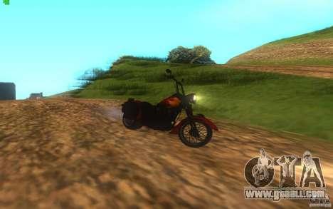 Motorcycle from Mercenaries 2 for GTA San Andreas