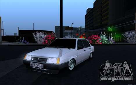 VAZ 21099 Vip Style for GTA San Andreas