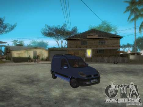Renault Kangoo II Stock for GTA San Andreas inner view