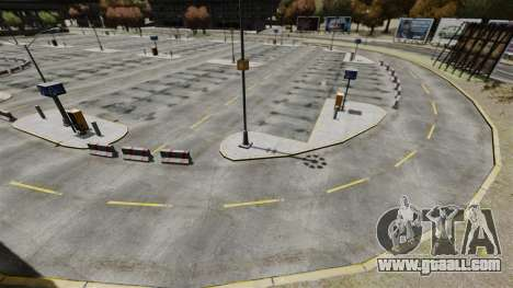 Drift-track at the airport for GTA 4 eighth screenshot