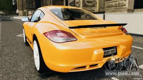 Porsche Cayman R 2012 [RIV] for GTA 4 back left view