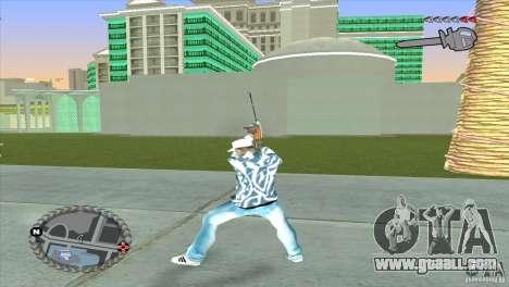 Ultra-modern HUD for GTA San Andreas third screenshot