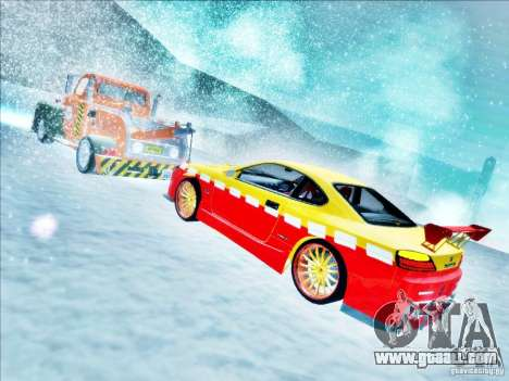 Nissan Silvia S15 Calibri-Ace for GTA San Andreas upper view