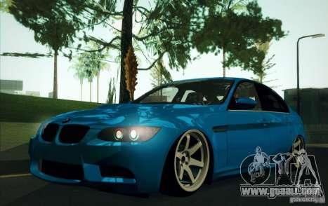 BMW M3 E90 for GTA San Andreas