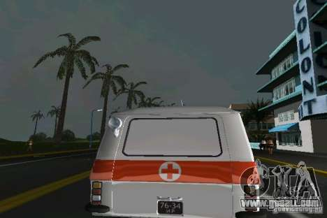 RAF-22031 Ambulance for GTA Vice City right view