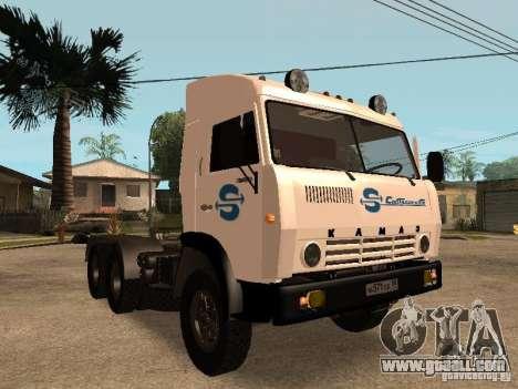 KAMAZ 5410 for GTA San Andreas engine